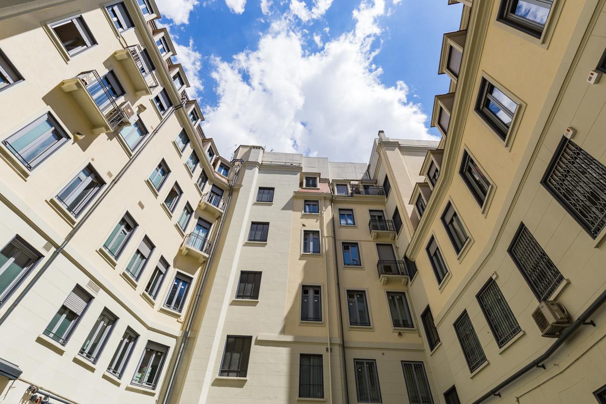 Restauro facciata stabile centro storico milano - Progetta ...